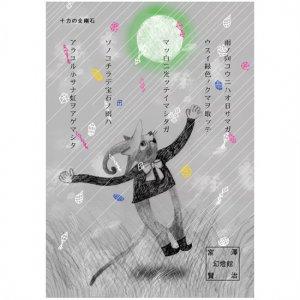【ゆうパケット対応】ポストカード 宮沢賢治幻燈館[十力の金剛石1]