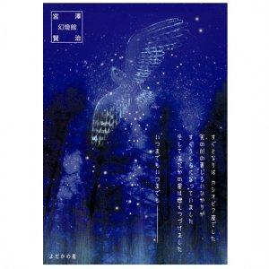 【ゆうパケット対応】ポストカード 宮沢賢治幻燈館[よだかの星2]