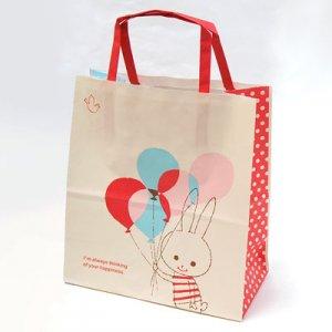 【ゆうパケット対応】手提袋S[Balloon Rabbit]