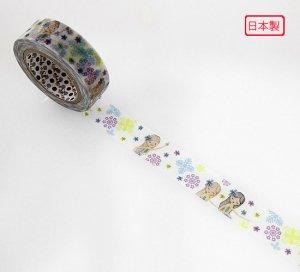 【ゆうパケット対応】マスキングテープ(15mm幅)[レイ]
