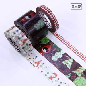 A Story Masking Tape マスキングテープ3巻セット[赤ずきん]
