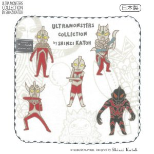 ULTRA MONSTERS COLLECTIONコミカル タオルチーフ[シャドウ]