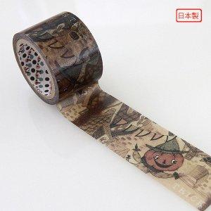 【期間限定】ハロウィン マスキングテープ Wide 28mm幅[ホッコモコロッソ]