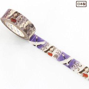 【ゆうパケット対応】マスキングテープ(15mm幅)[日本昔話 鶴の恩返し]