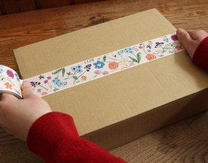 デザインクラフトテープ 45mm幅[flowers]