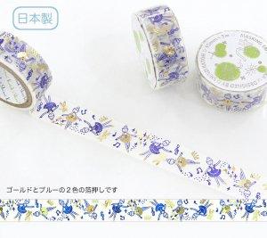 【ゆうパケット対応】トレペデコレーションテープ-きらぴか-[Ballet]