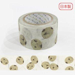いろは和紙テープ(27mm幅)[まる猫]