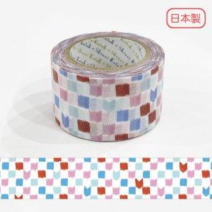 いろは和紙テープ(27mm幅)[矢絣格子]