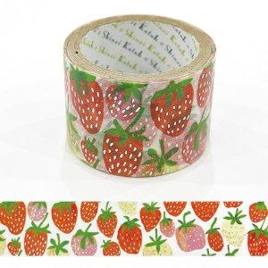 きらぴかマスキングテープ 27mm幅[strawberry]