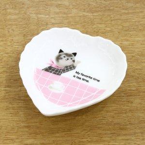 Meow meow ハートトレーP