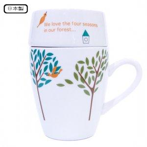 カフェマグカラフル_bird tree