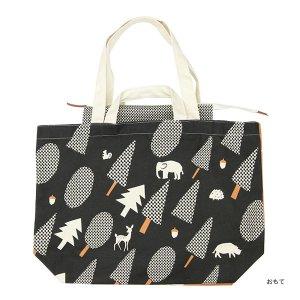 【予約商品】シンジカトウ  キャンバストートバッグ5 forest animal