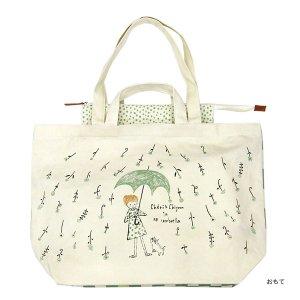 【予約商品】シンジカトウ  キャンバストートバッグ6 Cheri 花雨