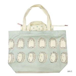 【予約商品】シンジカトウ  キャンバストートバッグ22 ハリネズミ