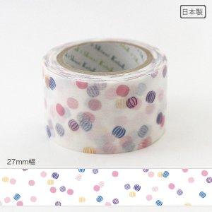 いろは和紙テープ(27mm幅)[京あめ]