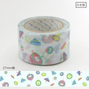 いろは和紙テープ(27mm幅)[こま遊び]