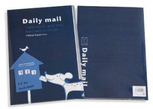 クリアファイル_daily mail