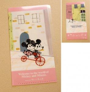 Shinzi Katoh Disney ミニクリアファイル Bike