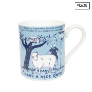 Canvas Tote Mug[sheep]