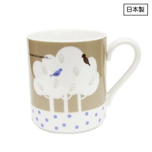 Canvas Tote Mug[Birds]