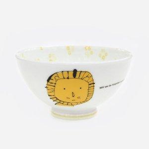 アニマル ふわふわ茶碗[ライオン]