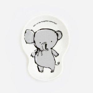アニマル ひょうたん皿[ゾウ]