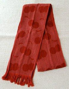 タオルマフラー(秋冬用) カラー:クランベリー