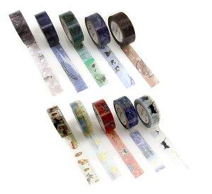 宮沢賢治マスキングテープ15mm幅10巻セット�