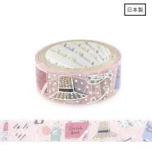【3�ゆうパケット対応】きらぴかマスキングテープ[私の旅支度]