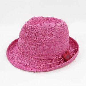 【数量限定】Shinzi Katohの帽子[チョウチョ_ピンク]54cm