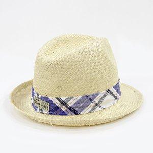 【数量限定】Shinzi Katohの帽子[チェック_ベージュ]54cm