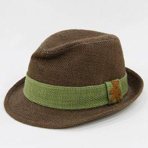 【数量限定】Shinzi Katohの帽子[くま_ブラウン]55cm
