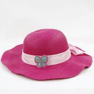 【数量限定】Shinzi Katohの帽子[ドットリボン_ピンク]54cm