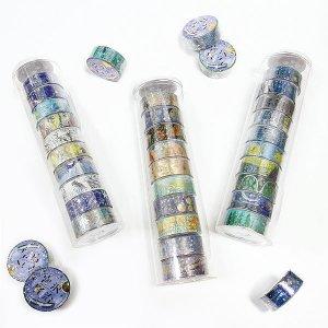 きらぴかマスキングテープ宮沢賢治幻燈館 10個セット