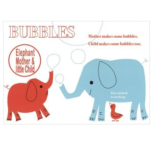 ポストカード elephants