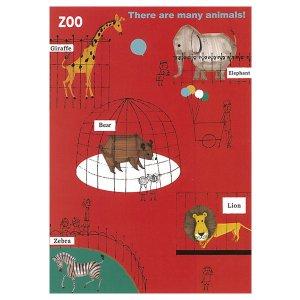 ポストカード zoo
