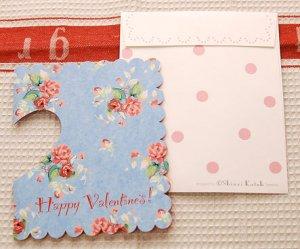 カードflower heart[バレンタイン]