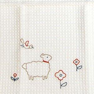ふきぴか 刺繍タイプ[ひつじととり]