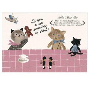 ポストカード Meaw Meaw Cat
