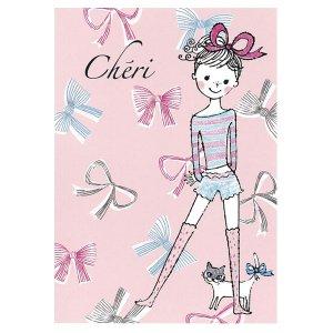 ポストカード Cheri ribbon