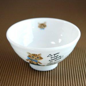 茶碗 Sサイズ[ミャウミャウ ブルー]