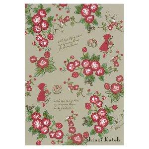 ポストカード [Red hood rose]