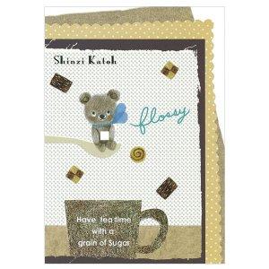 ポストカード [flossy bear]