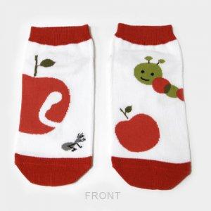 【ゆうパケット対応】レディースソックス[apple & warm]