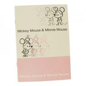 【ゆうパケット対応】A5サイズノート[Mickey&Minnie]
