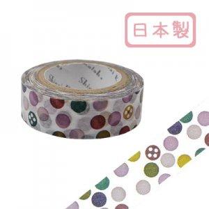 【ゆうパケット対応】マスキングテープ(15mm幅)[dot]