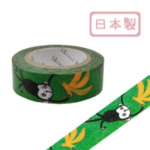 【ゆうパケット対応】マスキングテープ(15mm幅)[monkey]