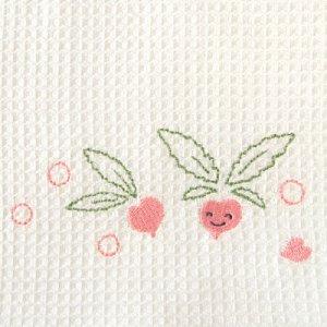 ふきぴか 刺繍タイプ[かぶ]