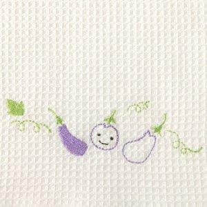 ふきぴか 刺繍タイプ[なす]