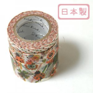 A Story Masking Tape マスキングテープ3巻セット[ladybird]